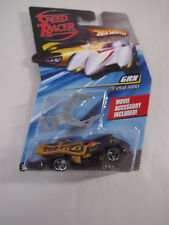 2008 Hot Wheels Speed Racer Series - GRX Race Car w/ Spear Hooks