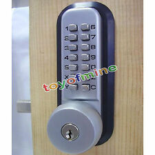 Mechanical Digital Keypad Button Door Code Lock Home Warehouse Access Security
