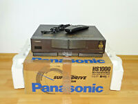 Panasonic NV-HS1000 High-End S-VHS Videorecorder in OVP, inkl. FB, 2J. Garantie
