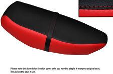 schwarz & rot custom fits yamaha cv 80 beluga riva 82-87 dual ledersitzbezug
