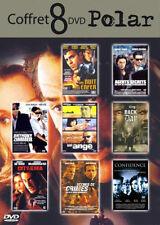 Coffret 8 DVD Polar Neuf crime, policier, espionnage