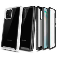 For Samsung Galaxy S10 Lite Case Full Body Clear Built-In Screen Protector Cover