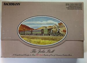 "NEW, MINT IN BOX, Bachmann HO ""The John Bull"" Complete Operating Train Set"