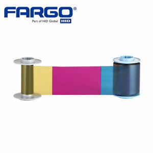 Fargo HDP6600 YMCK Ribbon, 750 Images P/N 84912 (084912)