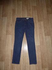 H&M SQIN Slim Fit Jeans SKINNY Röhrenjeans Hüftig Blau W28 L32 **w.NEU**