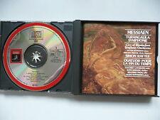 Messiaen Quatour pour la fin du Temps & Turangalila Symphonie CBSO Rattle EMI CD