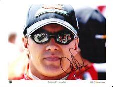 Adrian Fernandez signed Tecate Quaker State Champ Car photo