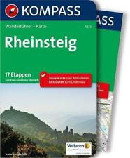 KOMPASS Wanderführer + Karte  ............................RHEINSTEIG
