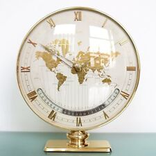 German KIENZLE WORLD WIND UP Clock HEINRICH MÜLLER Mantel 11.5Inch Vintage 8 Day