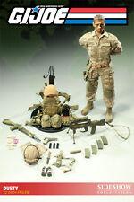 "Desert Trooper nombre de código Dusty G.I. Joe military Army 12"" personaje Sideshow"