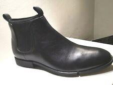 CLARKS boots cuir noir NEUVE Valeur 159E Pointures 44,44.5,45