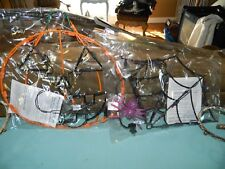 "Halloween Pumpkin & Spiderweb Window Decoration 16"" & 18"" Lot of 2"