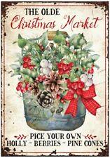 Decoupage-Bastelpapier-Softpapier-Vintage-Shabby-Weihnachten-Winter-12900