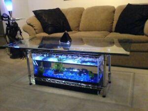 Custom Coffee Table Aquarium Deluxe Project Plans (DIY Project PLANS)