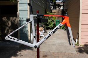 2020 Specialized S-Works Roubaix frame set 54cm w Dura Ace BB, Excellent!