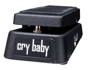 New With RED FASEL!! Dunlop GCB95 Original Crybaby Wah Wah Pedal Brand New