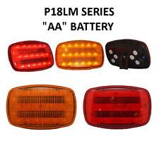 P18LM RED Roadside Emergency Warning LED Magnetic Light for Truck Trailer Car