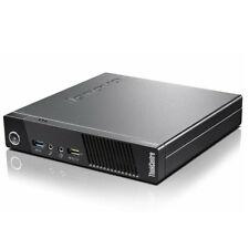 Lenovo ThinkCentre M73 Tiny Desktop 16GB RAM 512GB SSD i5 4570T 2.9GHz Win10 Pro