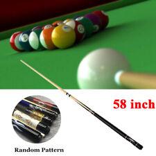 Stecca biliardo pool Cues con una punta da 12mm e un paraurti 147cm per gioco IT