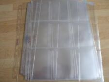 10 Pro trading card album pages sleeves 9 pocket