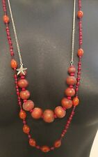 Aerie Necklace Beads StarFish Star Fish Beaded Dress Fancy Nice Ladies