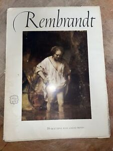 Rembrandt - An Abrams Art Book Containing 16 Beautiful Color Prints