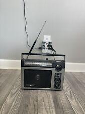General Electric Model 7-2880B Portable Radio Long Range AM/FM