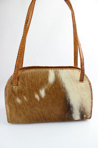 Vintage Bag Fur Worn Shoulder Good Condition