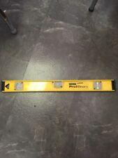 Stanley Pro-I Beam Level Yellow 42-240 Tool 2' Long