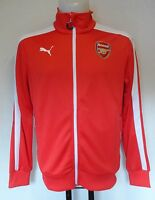 ARSENAL RED T7 ANTHEM JACKET BY PUMA ADULTS SIZE XL BRAND NEW WITH TAGS