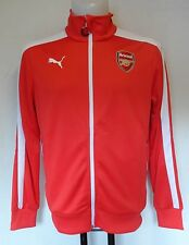 ARSENAL RED T7 ANTHEM JACKET BY PUMA ADULTS SIZE LARGE BRAND NEW WITH TAGS