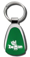 Dodge Dart Demon Green Teardrop Keychain Key Chain Fob Ring