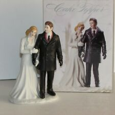WINTER WONDERLAND WEDDING CAKE TOPPER ANNIVERSARY SHOWER BRIDE GROOM WEDDINGSTAR