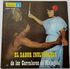 Los Corraleros de Majagüal – El Sabor Inolvidable LP Colombian Press 1990