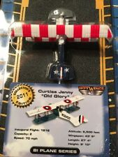 "Hot Wings Die Cast Planes and Connectable Runways 2011 Collector's ""Old Glory"""