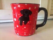 Keith Kimberlin Designer Collectible Black Lab Puppy Mug