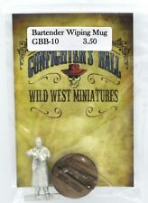 Knuckleduster GBB10 Bartender Wiping Mug (Gunfighter's Ball) Old West Townsfolk