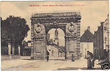 21 - cpa - BEAUNE - Porte Saint Nicolas  ( i 5755)