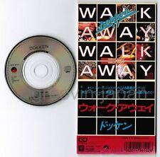 "DOKKEN Walk Away /Standing In The Shadows JAPAN 3"" CD SINGLE 10P3-6102 Free S&H"