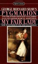 PYGMALION and MY FAIR LADY by Alan Jay Lerner & George Bernard Shaw Paperback