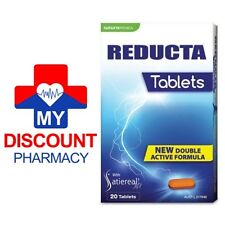 * REDUCTA APPETITE SUPPRESSANT 20 TABLETS WEIGHT LOSS HUNGER REDUCTION