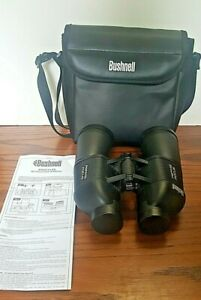 Bushnell Perma Focus Binoculars 12 X 50 17-5012 - Black With Carrying Bag
