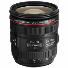 NEW Canon EF 24-70mm f/4L IS USM Lens - UK NEXT DAY DELIVERY