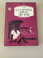 B.STOWE LA CAPANNA DELLO ZIO TOM BUONO CARTONATO!!