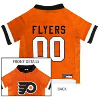 Philadelphia Flyers NHL Pets First Licensed Dog Pet Hockey Jersey Sizes XS-XL