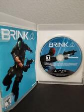 Brink Sony PlayStation 3 PS3 Complete Case and Manual S1O