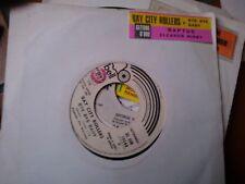 """7"""" PROMO + STICKER BAY CITY ROLLERS BYE BYE BABY RAPTUS ELEANOR RIGBY(BEATLES)EX"""