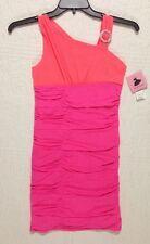 NEW AMYS CLOSET GIRLS DRESS FANCY PINK ORANGE SIZE 16 NWT $48