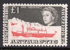 B.A.T MNH 1969 SG15a  £1 HMS Endurance