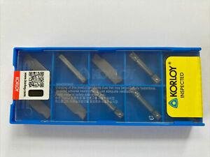 MGMN300-M H01 3mm Parting Inserts For Aluminium Korloy Compatible